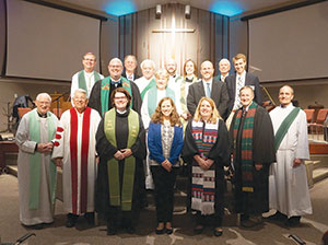 A prayer service celebrating the Week of Prayer for Christian Unity was held Jan. 23 at St. Andrew United Methodist Church in West Lafayette.